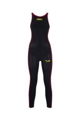 Arena Powerskin R-EVO+ open water suit zwart/fluo dames