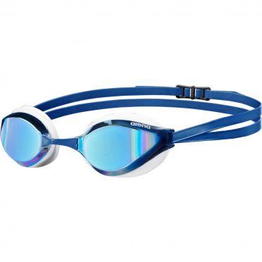 Arena Python mirror zwembril blauw