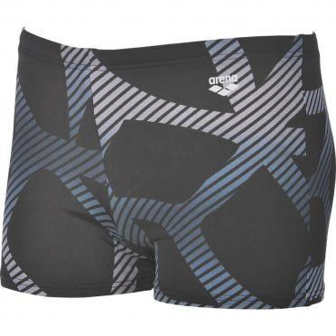 Arena Spider shorts zwembroek zwart/wit heren