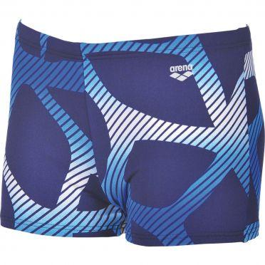 Arena Spider shorts zwembroek blauw/wit heren