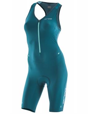 Orca 226 Perform race mouwloos trisuit blauw/groen dames