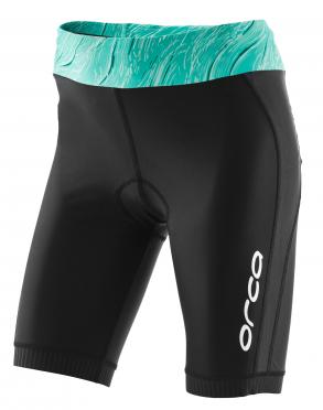 Orca Core tri short zwart/groen dames