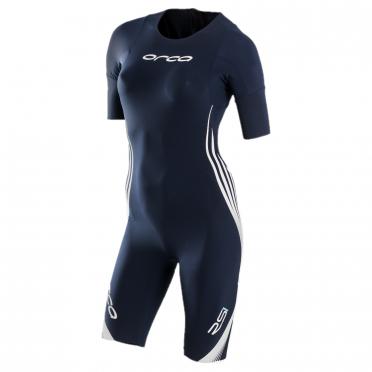 Orca RS1 korte mouw swimskin blauw dames