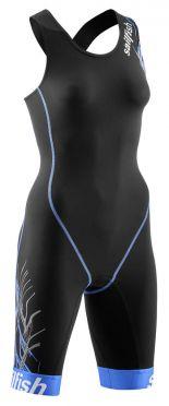 Sailfish Trisuit pro zwart/blauw dames