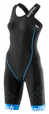 Sailfish Trisuit pro zwart-blauw dames 2018