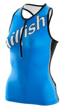 Sailfish Team Tri top blauw dames