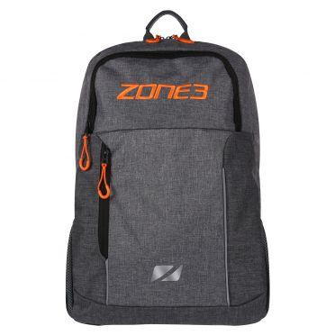 Zone3 Workout rugzak grijs/oranje