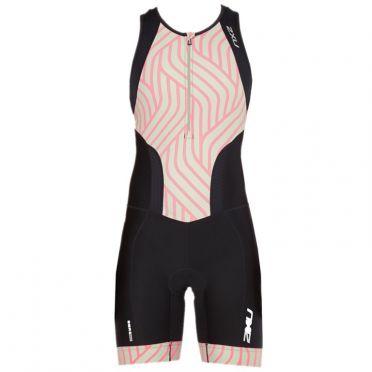 2XU Perform mouwloos trisuit zwart/mint dames