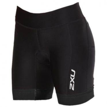 "2XU Perform 7"" tri shorts zwart dames"