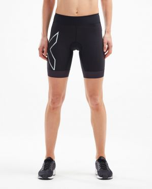 2XU Compression tri shorts zwart dames