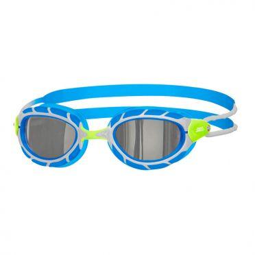 Zoggs Predator titanium zwembril blauw/wit
