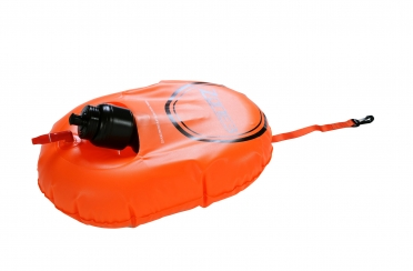 Zone3 Buoy/Dry bag hydration control oranje