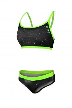 Zone3 Cosmic bikini zwart/geel dames