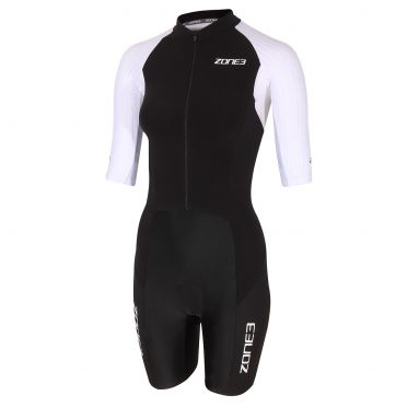 Zone3 Lava long distance FZ korte mouw trisuit dames