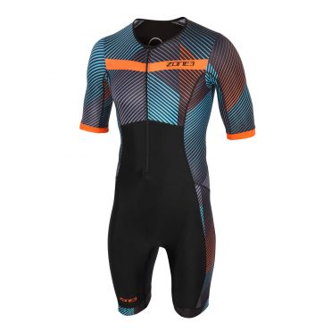 Zone3 Activate plus korte mouw trisuit momentum heren