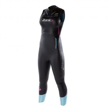 Zone3 Vision sleeveless wetsuit dames