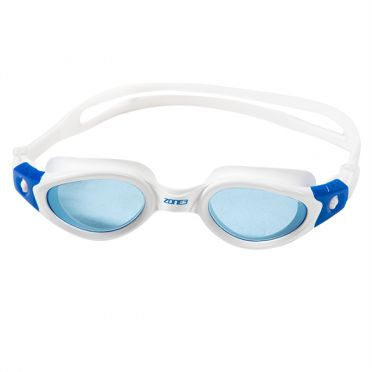 Zone3 Apollo getinte lens zwembril wit/blauw
