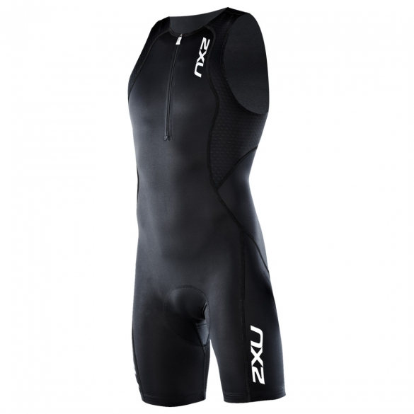 2XU Comp Trisuit Men`s MT1837d Black/Black  2XU MT1837d