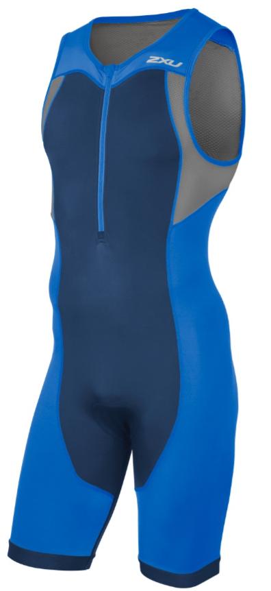 2XU Active Trisuit blauw heren  MT4361dDIB/NVY