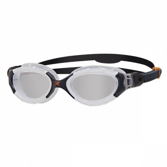 Zoggs Predator flex zwembril wit/zwart  338848