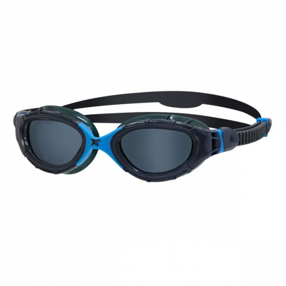 Zoggs Predator flex donkere lens zwembril blauw  339848
