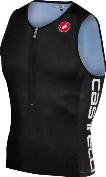 Castelli Core 2 tri top zwart heren  18112-010