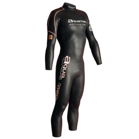 Aquaman Mens Fullsleeve Wetsuit Bionik 40 Flash systeem