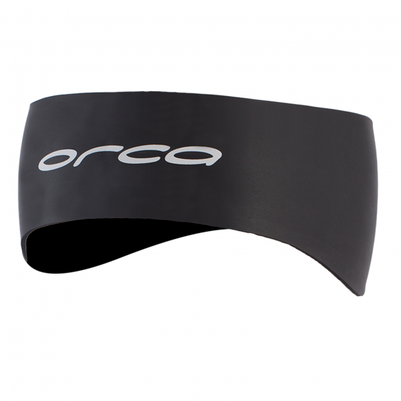 Orca Neopreen hoofdband zwart  GVBD01