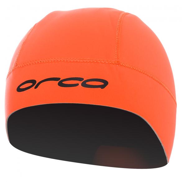 Orca Neopreen swim hat oranje  GVBA54
