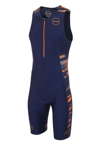 Zone3 Activate plus mouwloos trisuit Track speed heren  TS18MACP109
