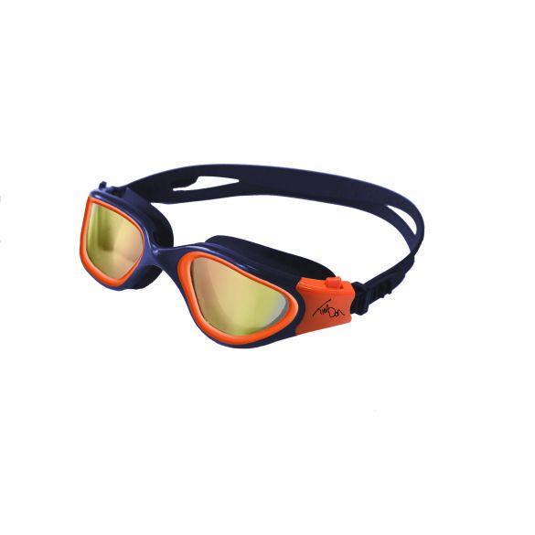 Zone3 Vapour polarized zwembril blauw/oranje  SA19GOGVA103