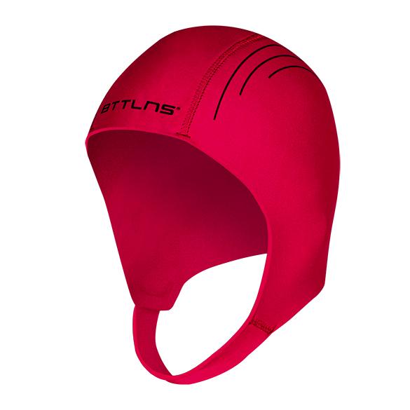 BTTLNS Neopreen Swim cap Khione 1.0 rood  0120010-003