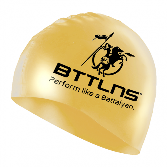 BTTLNS Siliconen badmuts blessed goud Absorber 2.0  0318005-087