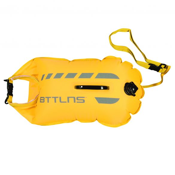 BTTLNS Amphitrite 1.0 saferswimmer zwemboei 20 liter geel  06200020-032