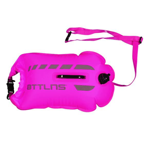 BTTLNS Amphitrite 1.0 saferswimmer zwemboei 20 liter roze  06200020-072