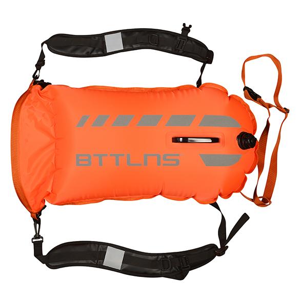 BTTLNS Tethys 1.0 safeswimmer zwemboei 35 liter oranje  06200035-034