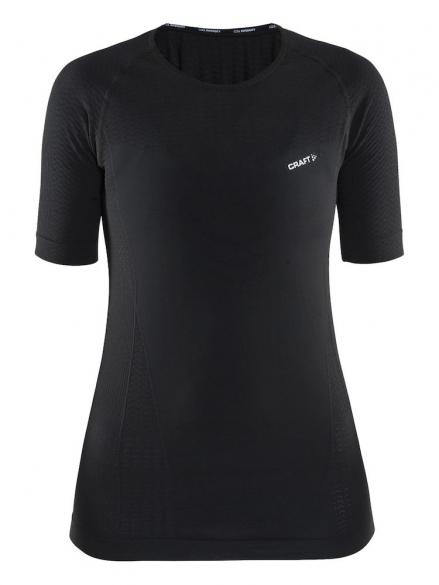 Craft cool intensity korte mouw ondershirt zwart dames  1904919-9999