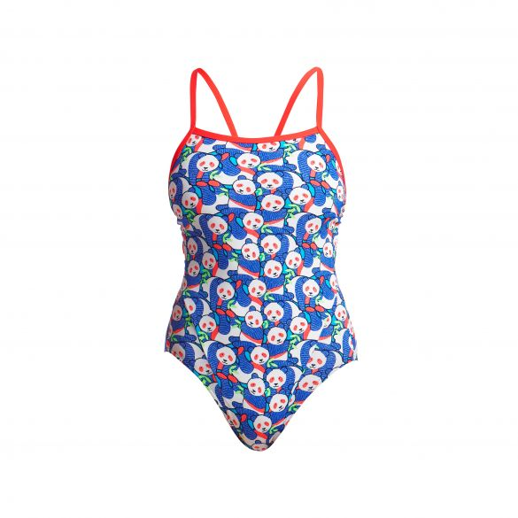 Funkita Pandamania single strap badpak dames  FKS030L02327