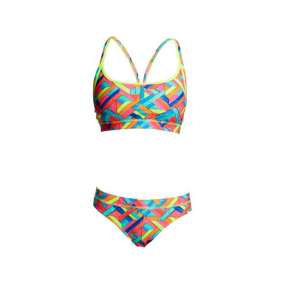 Funkita Panel pop Sports bikini set dames  FS02L02211+FS03L02211