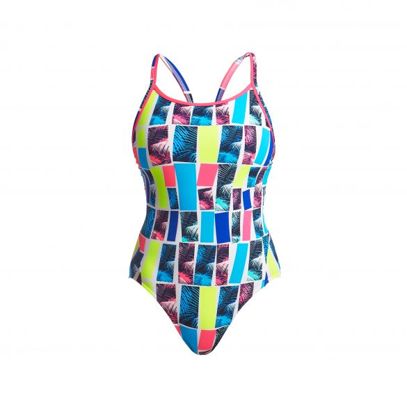 Funkita Palm bar diamond back badpak dames  FS11L02325