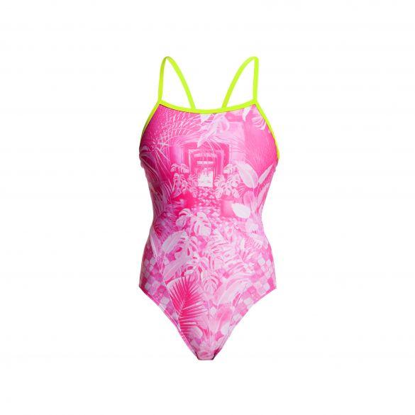 Funkita Pink bliss single strap badpak dames  FS15L02217