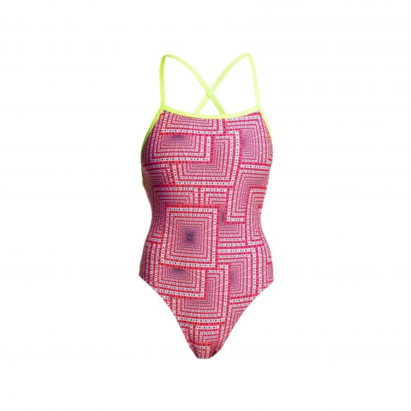 Funkita swim spin strapped in badpak dames  FS38L02210
