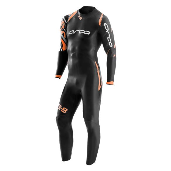 Orca 3.8 Enduro fullsleeve wetsuit heren  GVN1
