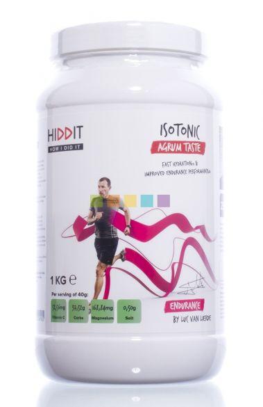 Hiddit Isotonic agrum smaak 1kg  HIDISOAGR1KG