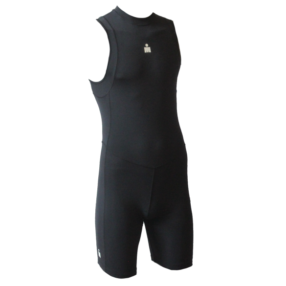 Ironman trisuit back zip mouwloos B9 zwart heren  IMB951-15