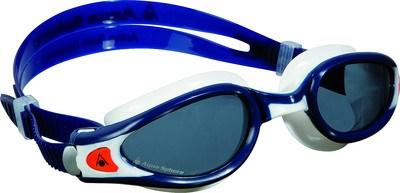 Aqua Sphere Kaiman EXO donkere lens zwembril blauw/wit  AS175630