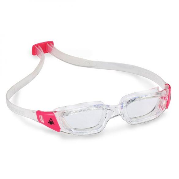 Aqua Sphere Kameleon Lady transparante lens zwembril silver/roze  AS183600