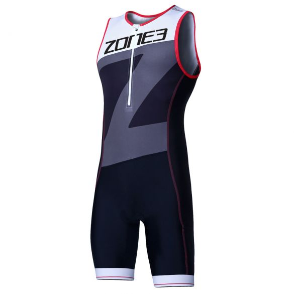 Zone3 Lava long distance mouwloos trisuit heren  TS18MLAV102