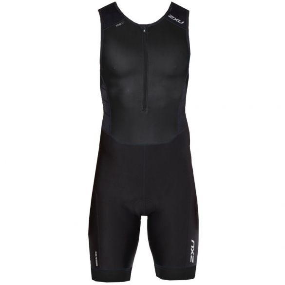 2XU Perform sleeveless trisuit zwart heren  MT4848d-BLK/BLK