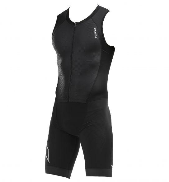 2XU Compression mouwloos trisuit zwart heren  MT5517D-BLK/BLK